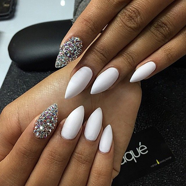 1359 best nail designs hands feet images on pinterest deco white and silver perfect combo prinsesfo Image collections