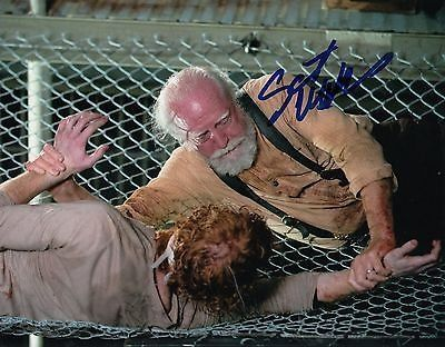 Scott Wilson signed The Walking Dead 8x10 photo w/coa Hershel Greene #4