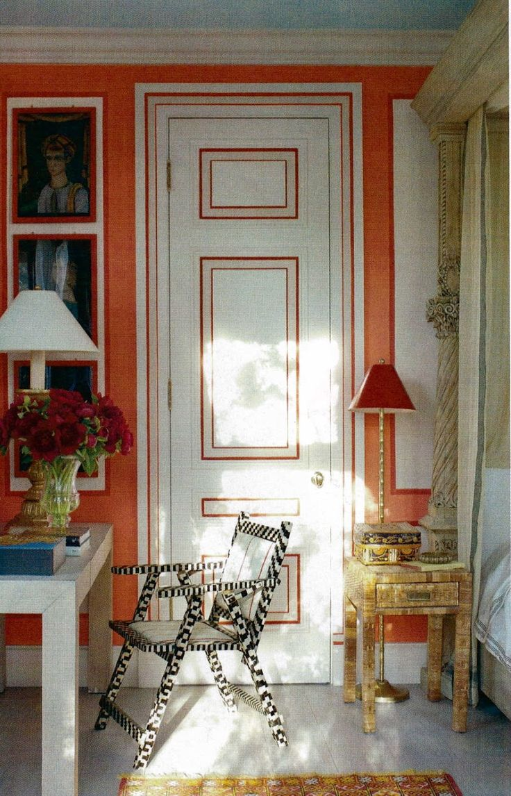10 Inspiring Interior Doors: Right Up My Alley: Design Inspiration Friday: Painted