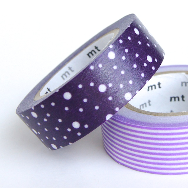 Purple Galaxy - mt Washi Tape