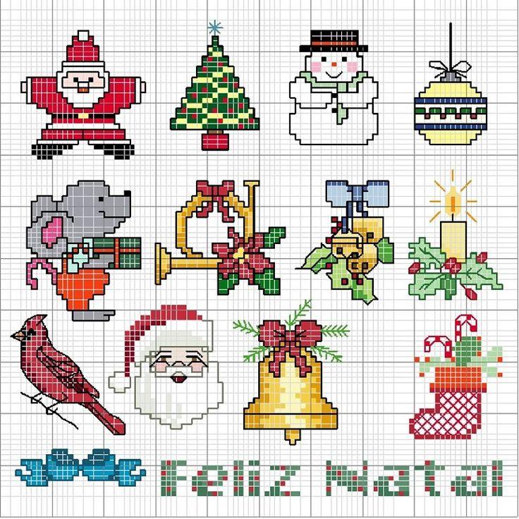 Increíble Mini Patrones De Punto Media De La Navidad Friso - Manta ...