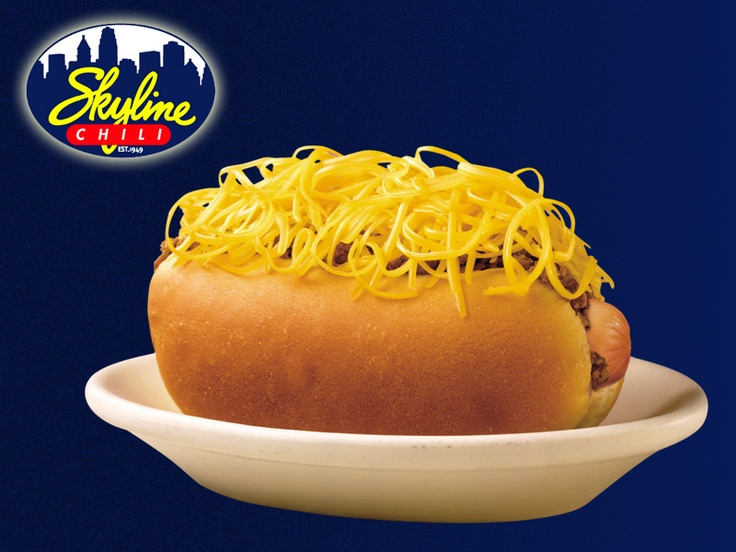 you haven't lived unless you've tried skyline chili