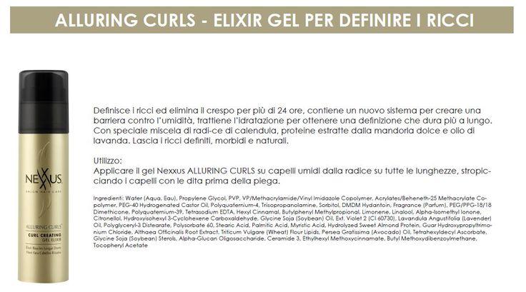 Alluring Curls - gel per definire i ricci