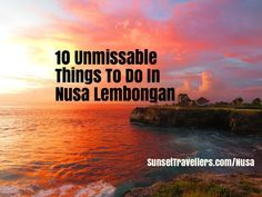 Planning a trip to Indo? Don't miss out and visit this incredible island.  Read our guide and see everything :-)