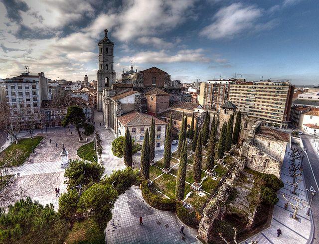Catedral y plaza de la universidad (Valladolid) | Flickr: Intercambio de fotos
