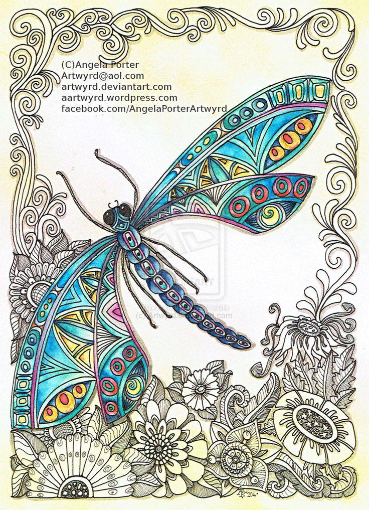 Dragonfly 31st December 2014 by Artwyrd