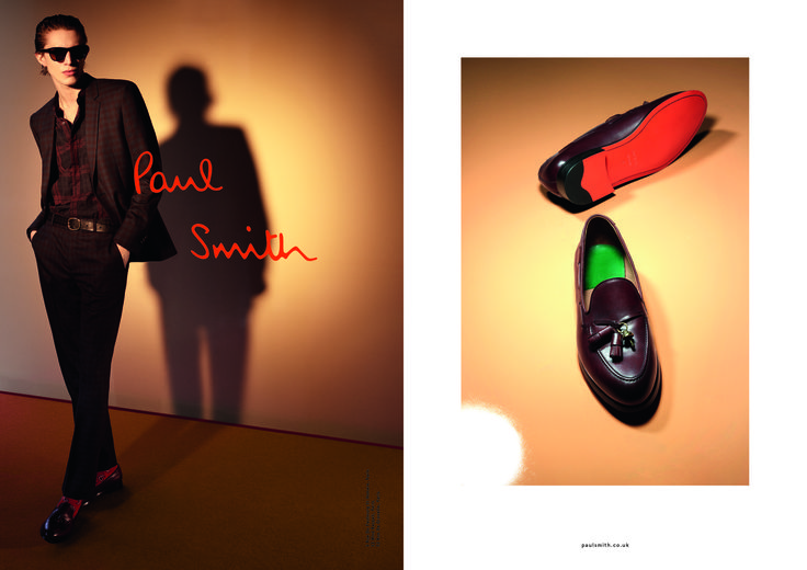 Paul Smith Campaign AW16 by Nick Chard | Shot at Lock Studios
