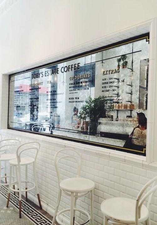 Cafe Interior Design Mirror | Interior Design Images