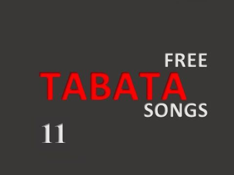 Tabata music (song 11) - With timer!
