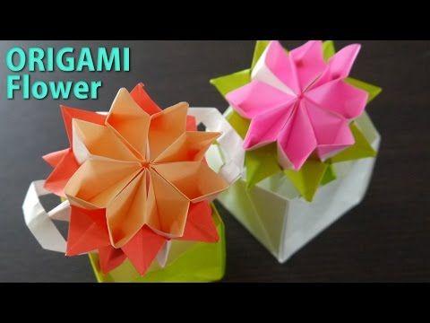 ハート 折り紙 : 折り紙 ガーベラ 折り方 : jp.pinterest.com