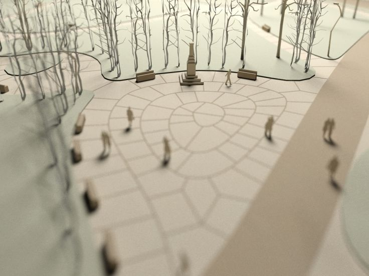 Model for public space competition by Karolina Bober