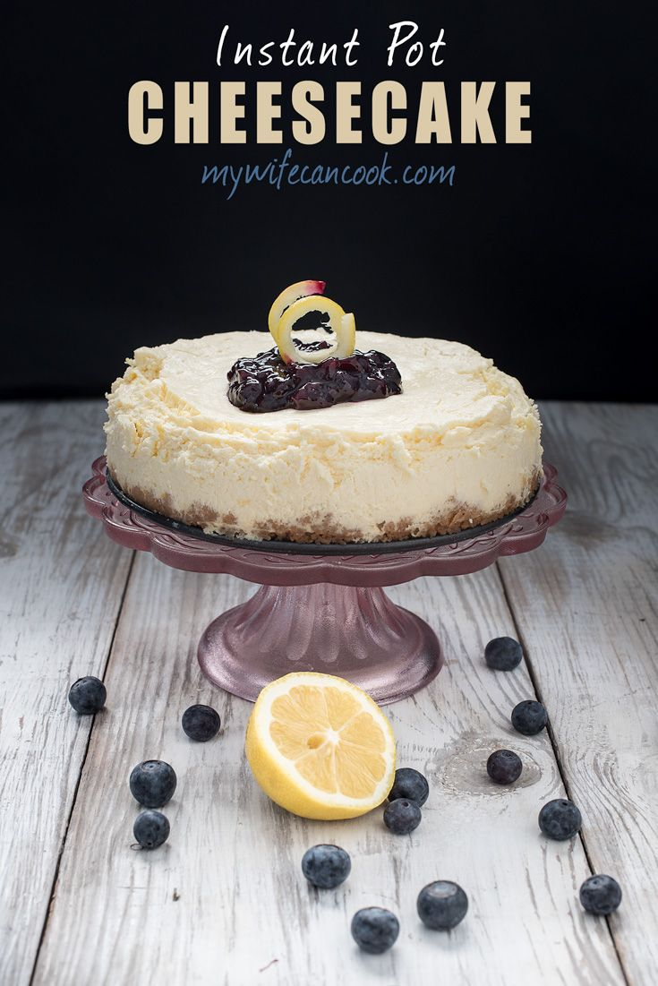 Instant Pot Cheese Cake Recipe