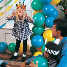 Jungle Party for Kids- I like the idea of pretending to an elephant and going on a peanut hunt (like an Easter Egg hunt)