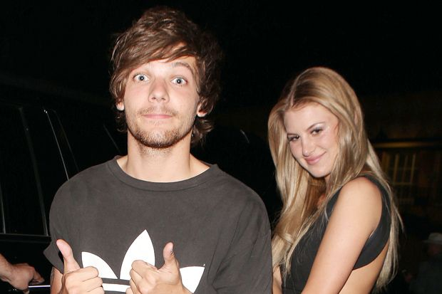 Louis Tomlinson's Baby Mama Briana Jungwirth Shows Off Baby Bump During One Direction Concert