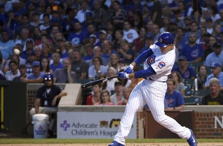 Anthony Rizzo's 2 run HR helps Chicago Cubs power past Pirates 3 - 0 in Game 2 at Wrigley. #LetsGoCubs
