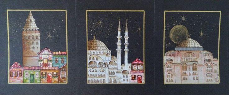 """Serap Derinkök """"İstanbul Üçlemesi'' minyatürü"""
