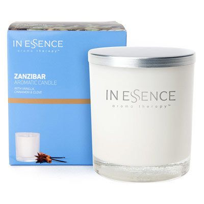 In Essence Zanzibar Aromatic Soy Candle - Amcal Chempro Online Chemist