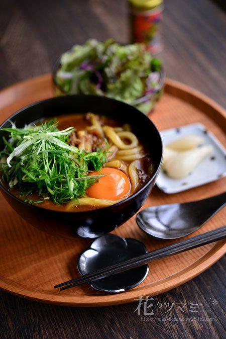 「お蕎麦屋さんのカレーうどん」 - 花ヲツマミニ