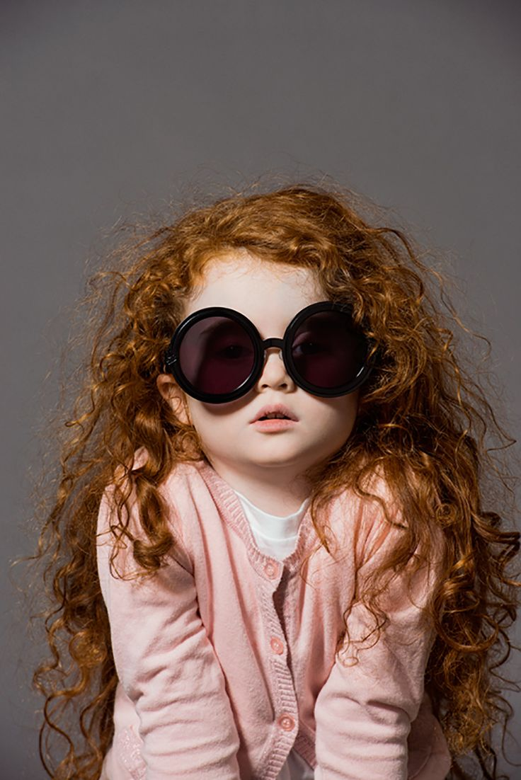 I have a fear this is what my child will look like when I have one. Curly ginger hair.