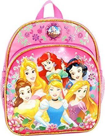 Disney Princess Cinderella Belle Aurora Rapunzel 10' Mini Backpack. #Disney #Princess #Cinderella #Belle #Aurora #Rapunzel #Mini #Backpack