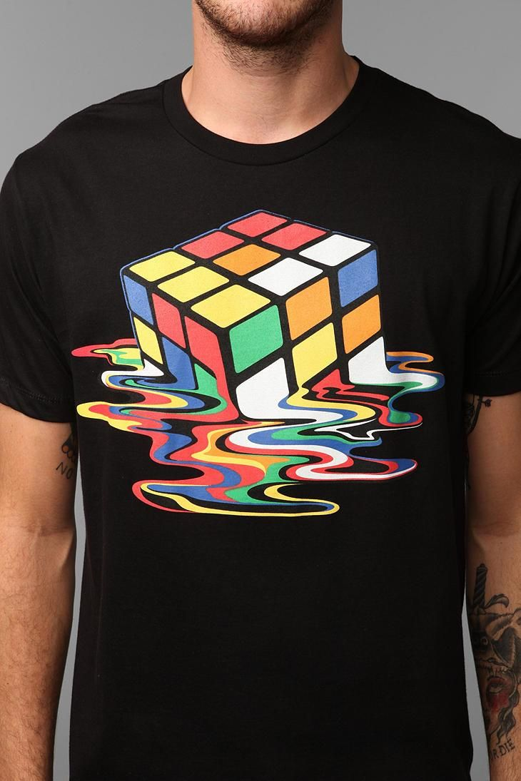 Melted Cube Tee #urbanoutfitters
