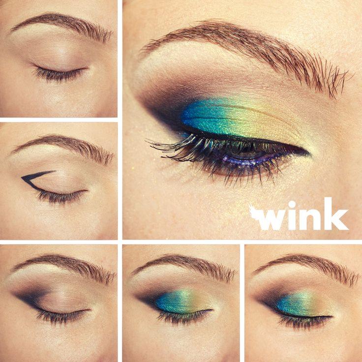 Ako na to: pávie oko! Make-up na vianočný večierok! .-) http://wink.sk/beauty/makeup/ako-na-to-pavie-oko.aspx