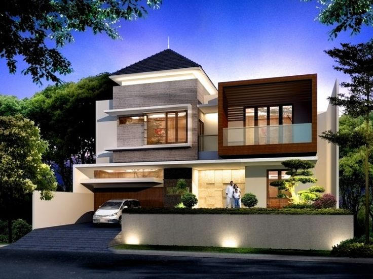 model rumah minimalis modern 2 lantai - 19