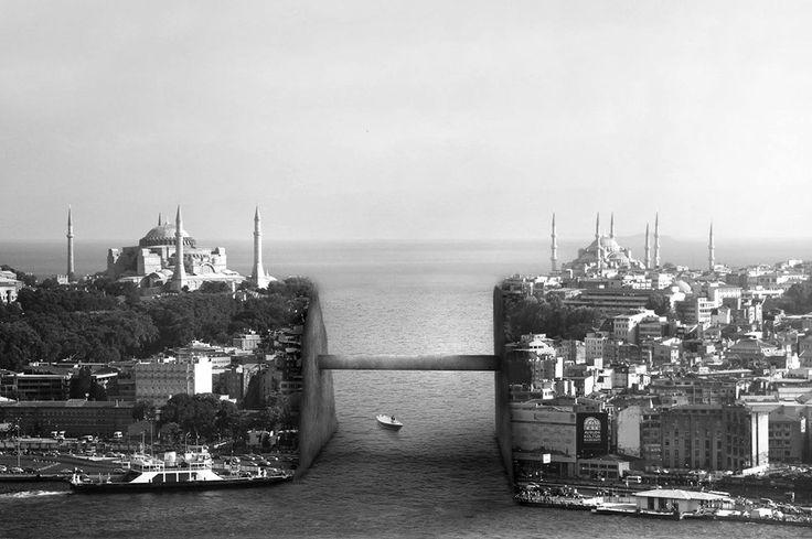İstanbul'un Geleceği 20 Kartpostalda