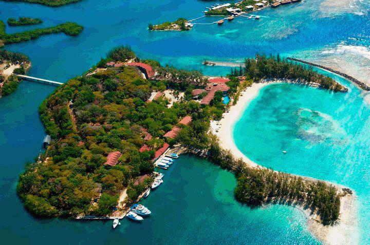 Fantasy Island Roatan Honduras Corey Yanzito We Were A