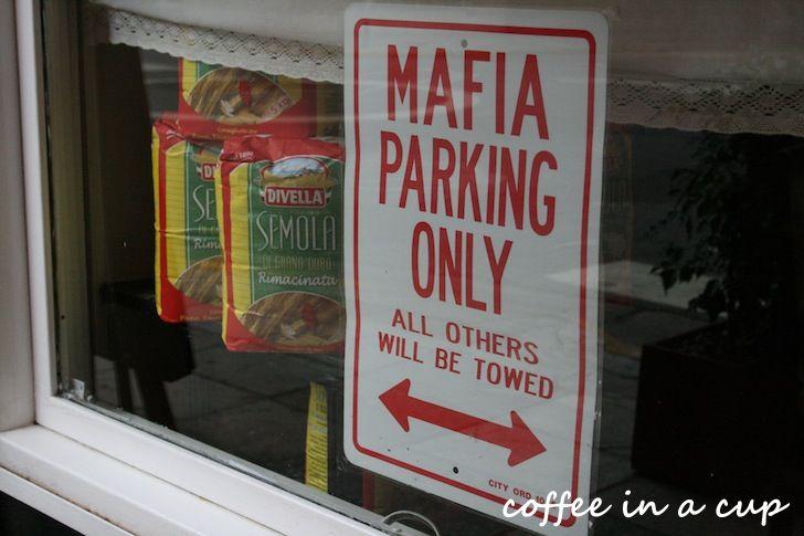 mafia parking only