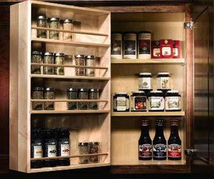 Spice Racks for Kitchen Cabinets