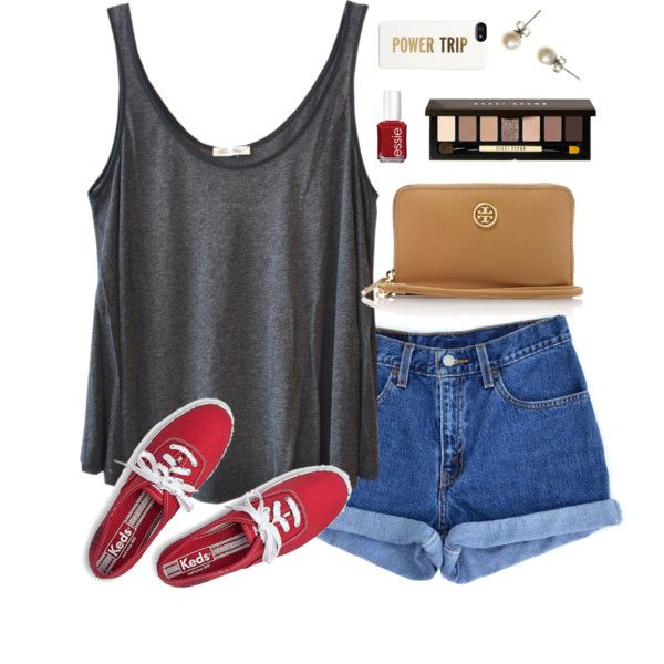 ed sheeran concert tonight!! by classically-preppy on Polyvore featuring polyvore, fashion, style, American Vintage, Levi's, Keds, J.Crew, Kate Spade, Bobbi Brown Cosmetics, Essie and Tory Burch