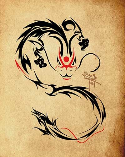 NavegaçãoSignificado das tatuagens de dragão (Dicas)Fotos de tatuagens de dragão nas costas, no braço, na barriga, no bíceps (Imagens e Modelos)Tatuagens de dragão estão na lista das preferidas entre as artes corporais para os homens. Há uma enorme simbologia envolvendo o desenho, como seu mito de ser um dos animais mais destruidores do mundo antes …
