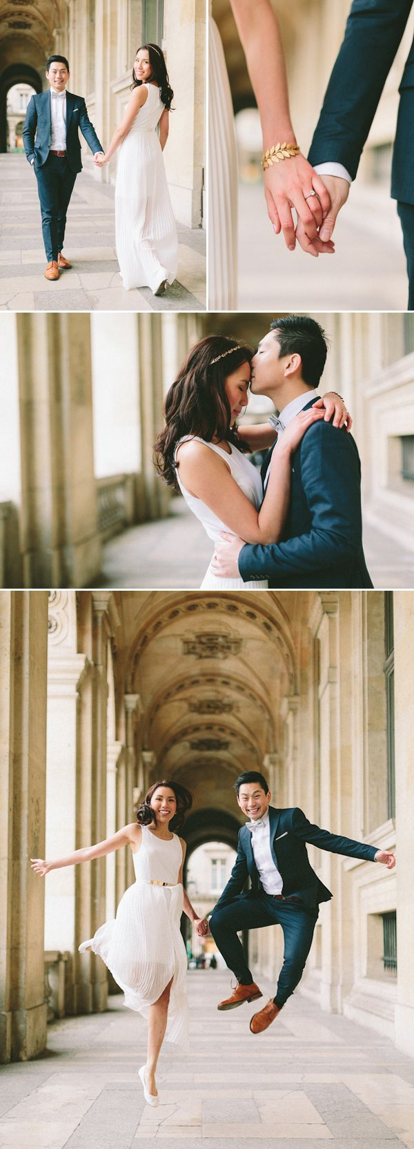 Stylish Paris Engagement from French Grey Photography