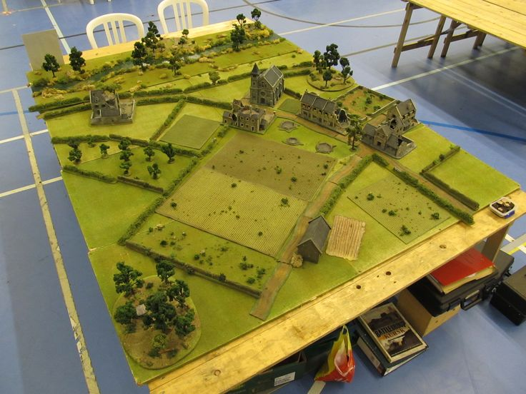 d day diorama battlefield