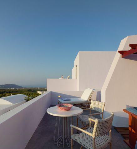 Vedema Resort in Santorini Island, Greece