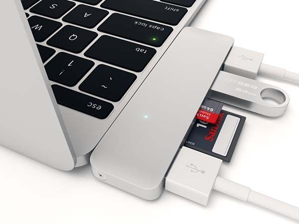 Satechi Type-C USB Hub Lets Your MacBook Connect with More Devices