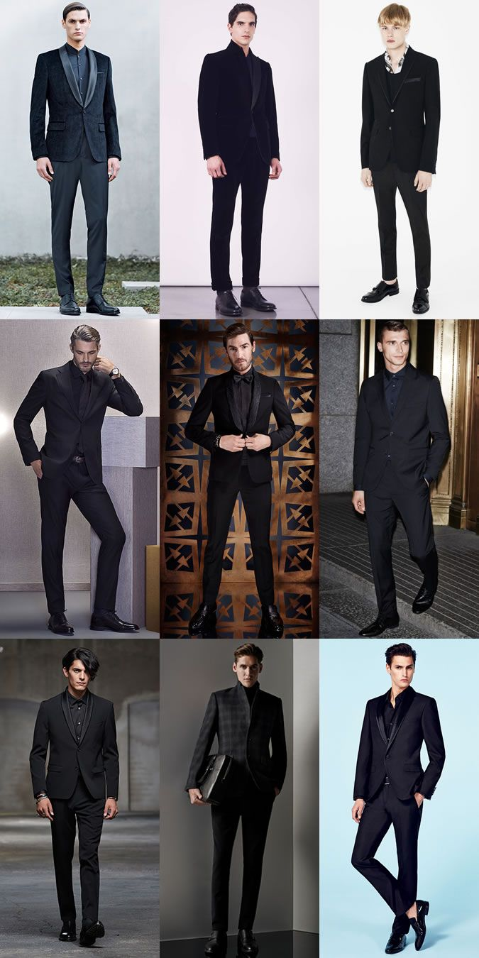 Black And White Party Outfit Ideas For Guys