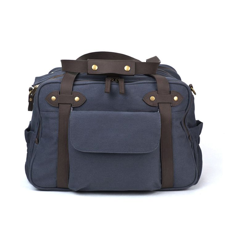 Giggle Charlie Diaper Bag: Giggle's super stylish Charlie Diaper Bag ($175) makes the transition between mom's and dad's shoulder with ease. Available in khaki or slate, it's a great overnight bag as well.