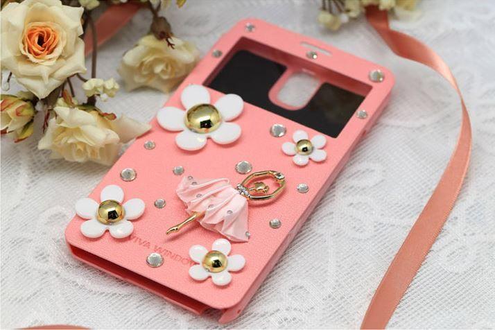 Lumiel   Daisy Ballerina View Flip Case for Galaxy S4 Active