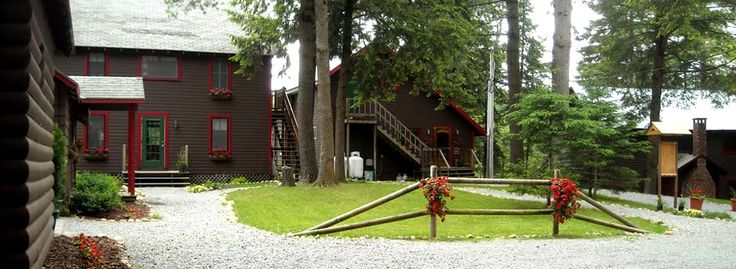 White Lake Lodges, accommodates up to 52