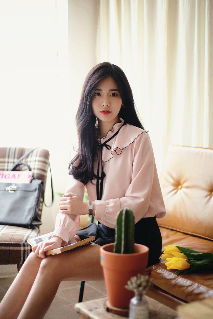 a244a3350a  milkcocoa(MT) daily 2018 feminine  classy look