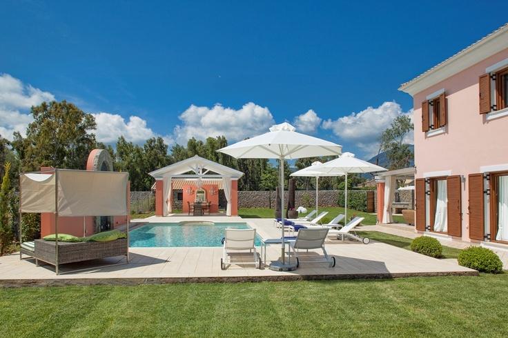 Sea View Villa Lilly, Luxury Accommodation In Corfu