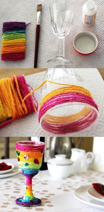 Tutorial of 2015 passover Elijah Cup, DIY Rainbow Elijah Cup, 2015 passover Crafts for Kids - Love it by Dua Fatima