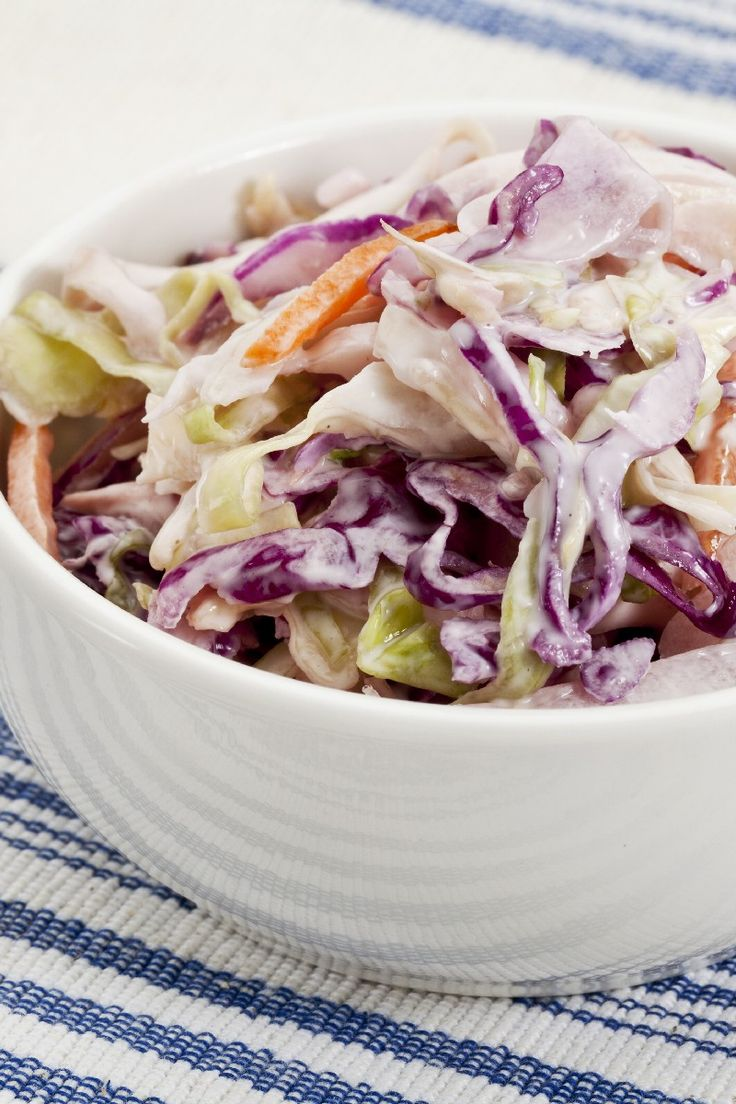 Classic Coleslaw – Weight Watchers (1 Point)