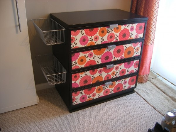 What A Great Way To Add Storage To A Dresser Put A