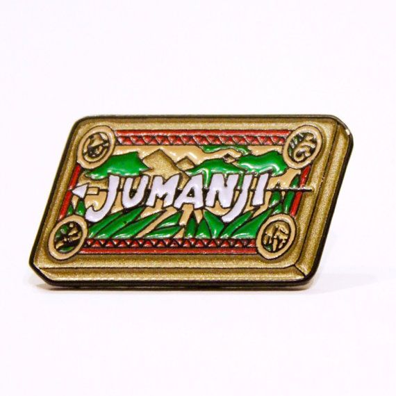 Jumanji Pin https://www.etsy.com/uk/listing/278273046/jumanji-board-game-enamel-pin