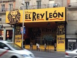 Resultado de imagen de LOS TEATROS EN LA GRAN VIA MADRID