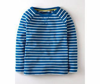 Boden Stripy Sweatshirt, China Blue/Ivory 33996091 Timeless nautical style in three classic colours and our signature super soft cotton - updated for Spring with an improved fit. http://www.comparestoreprices.co.uk/womens-clothes/boden-stripy-sweatshirt-china-blue-ivory-33996091.asp
