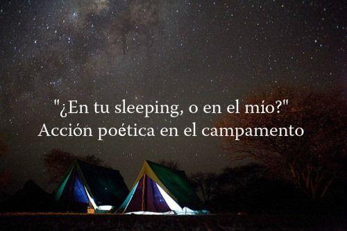 O si quieres afuera y nos quedamos mirando las estrellas toda la noche ♥
